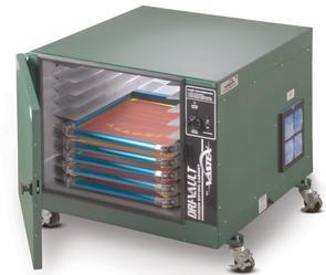 Vastex 10 screen capacity Dri-Vault Screen Drying Cabinet with Digital controller
