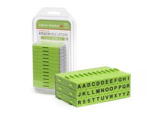 Xiem Tools Attachable Letters Stamp Set 36 Pcs Upper Case