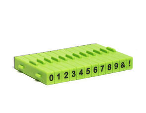 Xiem Tools Attachable Numbers Stamp Set 12 Pcs