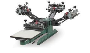 Vastex V-2000HD Industrial Screen Printing Press 1 Station 4 Colour TT