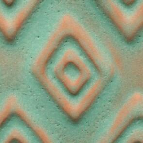 Amaco Artist Choice Lowfire Brushable Glaze A-22 Aztec Turquoise