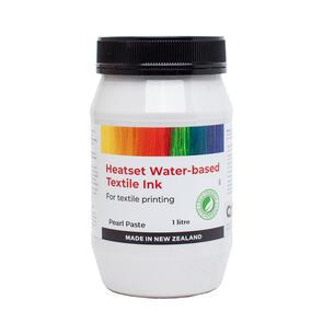 Heatset Water Based Textile Ink Pearl Paste