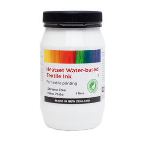 Heatset Water Based Textile Ink Solvent Free Print Paste