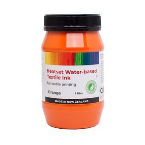 Heatset Water Based Textile Ink Orange
