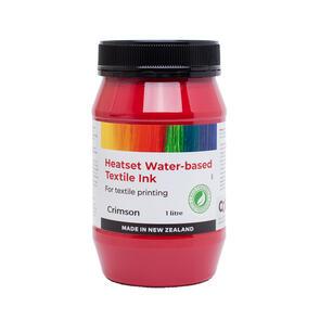 Heatset Water Based Textile Ink Crimson