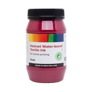 Heatset Water Based Textile Ink Rose