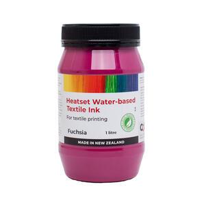Heatset Water Based Textile Ink Fuchsia