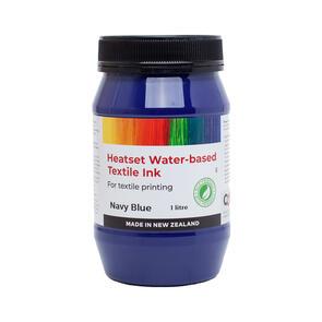 Heatset Water Based Textile Ink Navy Blue