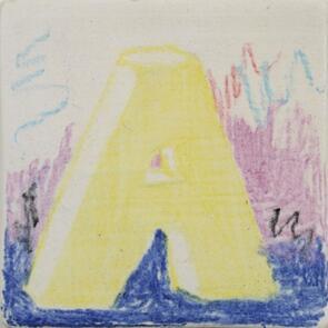 Amaco Underglaze Chalk Crayon Yellow