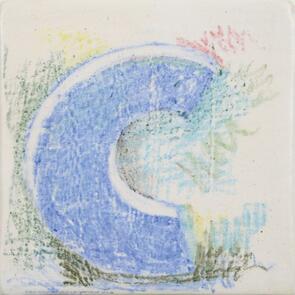 Amaco Underglaze Chalk Crayon Medium Blue