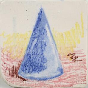 Amaco Underglaze Chalk Crayon Dark Blue