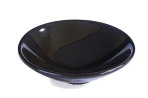 Abbots Reactive Black Midfire Glaze