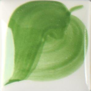 Duncan E-Z Stroke Translucent Underglaze EZ028 Leaf Green