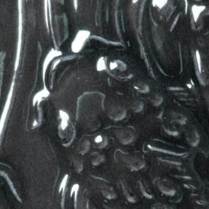 Amaco Gloss Lowfire Brushable Glaze LG-2 Black Lustre
