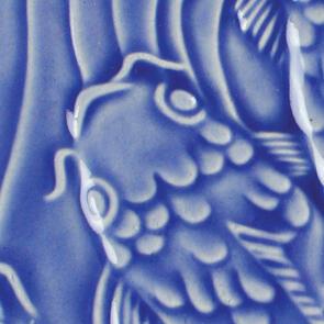 Amaco Gloss Lowfire Brushable Glaze LG-20 Medium Blue