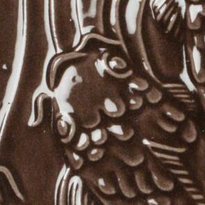 Amaco Gloss Lowfire Brushable Glaze LG-30 Chocolate Brown