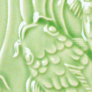Amaco Gloss Lowfire Brushable Glaze LG-45 Emerald Green