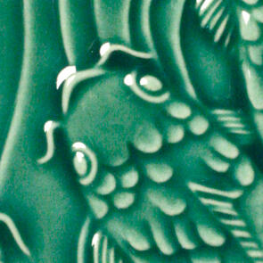 Amaco Gloss Lowfire Brushable Glaze LG-46 Leaf Green