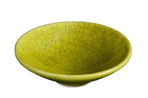 Abbots Olive Crackle Midfire Glaze