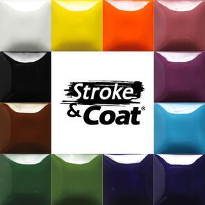 Mayco Stroke & Coat Low & Midfire Glaze Kit 1 (12x 59ml Colours)
