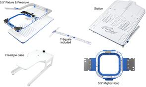 "HoopMaster Mighty Hoop 5.5"" Starter Kit for Happy Japan"