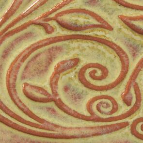Amaco Opalescent Lowfire Brushable Glaze O-12 Tawny