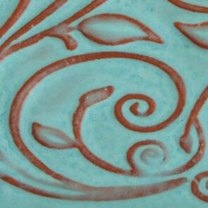 Amaco Opalescent Lowfire Brushable Glaze O-20 Bluebell