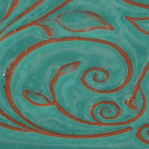 Amaco Opalescent Lowfire Brushable Glaze O-21 Aquamarine