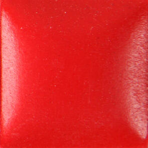 Duncan Bisq-Stain Opaque Acrylics Non Fired Brushable Glaze OS449 Bright Red