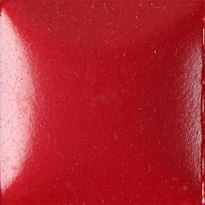 Duncan Bisq-Stain Opaque Acrylics Non Fired Brushable Glaze OS455 Holly Red