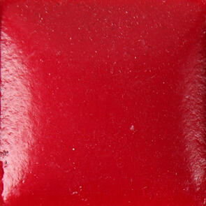Duncan Bisq-Stain Opaque Acrylics Non Fired Brushable Glaze OS483 Real Red