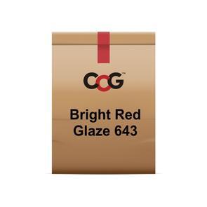 CCG Bright Red Cadmium Glaze 643