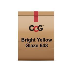 CCG Bright Yellow Cadmium Glaze