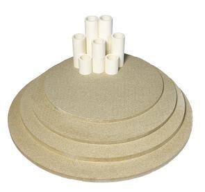 Nabertherm Top80/100 Furniture Kit for Toploading Round Kiln
