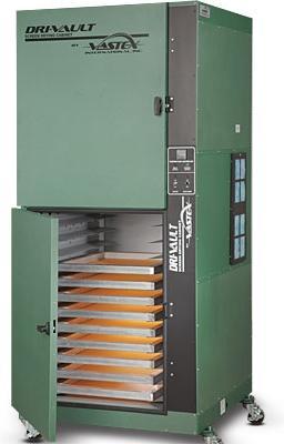 Vastex 24 screen capacity Dri-Vault Screen Drying Cabinet