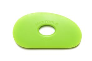 Mudtools Polymer Ribs Green (Medium) Large Kidney 5