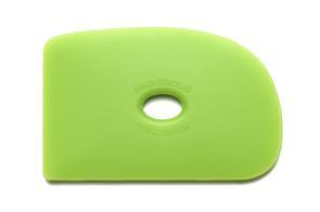 Mudtools Polymer Ribs Green (Medium) D Shape 2