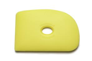 Mudtools Polymer Ribs Yellow (Soft) D Shape 2