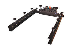 """Vastex V-2000HD Side Clamps 22"""" wide x 8"""" deep with Gas Shock (88 & 1010 press)"""