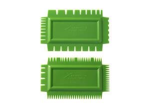 Xiem Tools Ultimate Texture Comb A Set (Set of 2) Flex Firm