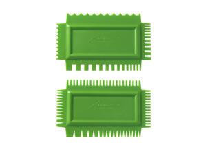 Xiem Tools Ultimate Texture Comb B Set (Set of 2) Flex Firm
