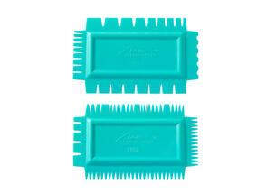Xiem Tools Ultimate Texture Comb A Set (Set of 2) Flex Soft