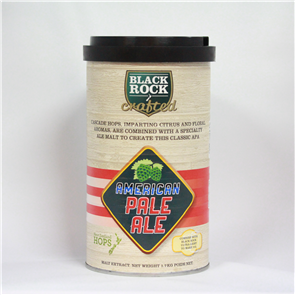 Black Rock Crafted American Pale Ale 1.7kg