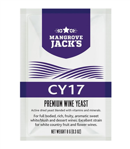 Wine Yeast - CY17 8g