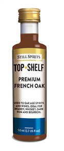 Top Shelf Enhancer Premium French Oak 50ml
