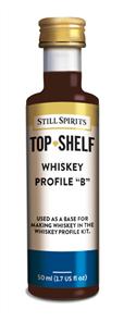 Top Shelf Enhancer Whiskey Profile B 50ml