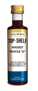Top Shelf Enhancer Whiskey Profile D 50ml