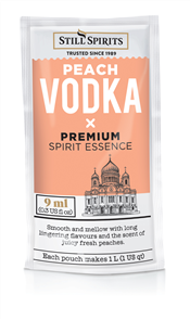 Vodka Shot Peach 1L