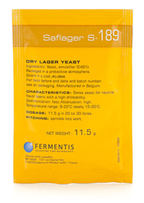 SafLager S-189 Yeast