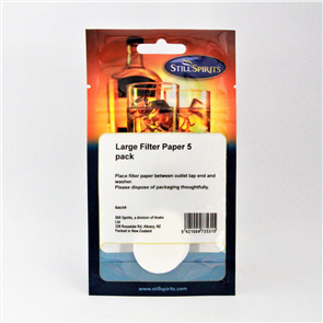 Filter Papers (Large) x5